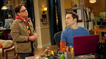 Leonar y Sheldon, de 'The Big Bang Theory'