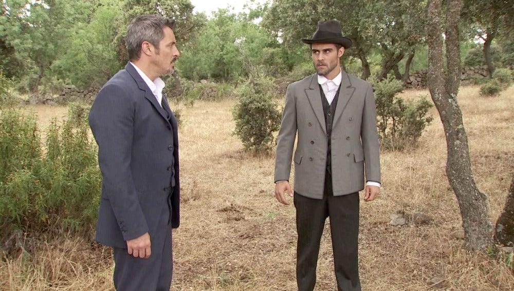 "Alfonso a Ramiro: ""¿Quién eres, hermano?"""