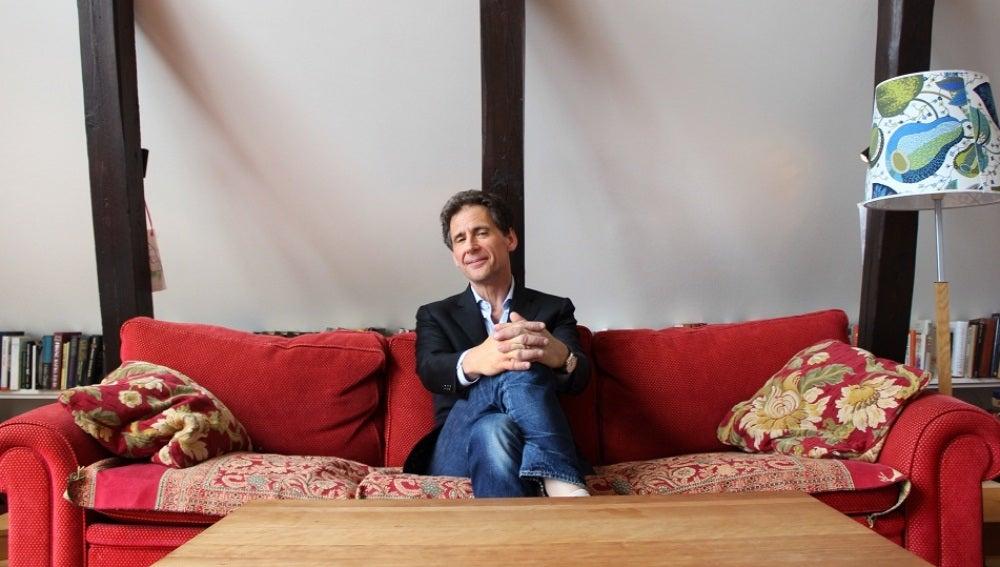 David Lagercrantz, autor de 'Lo que no te mata te hace más fuerte', la cuarta entrega de la saga Millennium