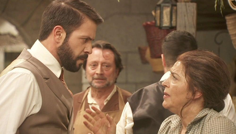 Francisca, sospechosa de secuestrar a Beltrán y matar a Bosco