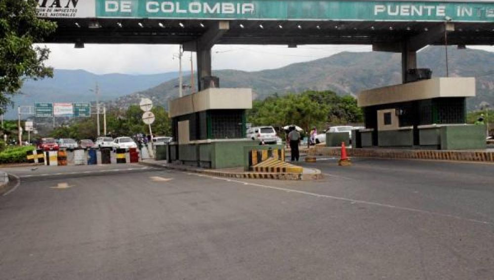 Frontera de Colombia.