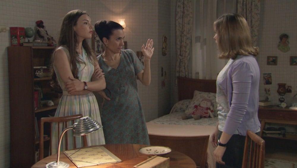 María, Manolita y Leonor