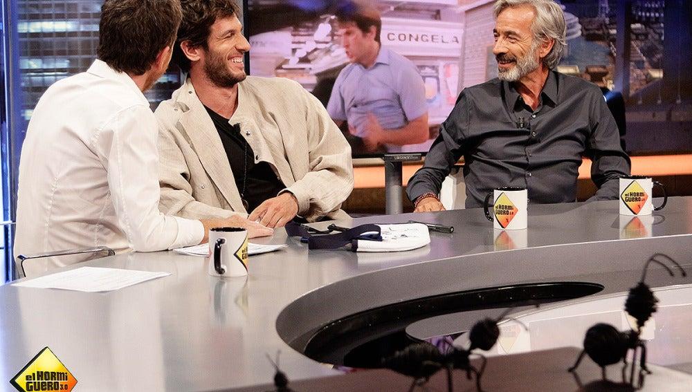 Quím Gutiérrez e Imanol Arias en El Hormiguero 3.0
