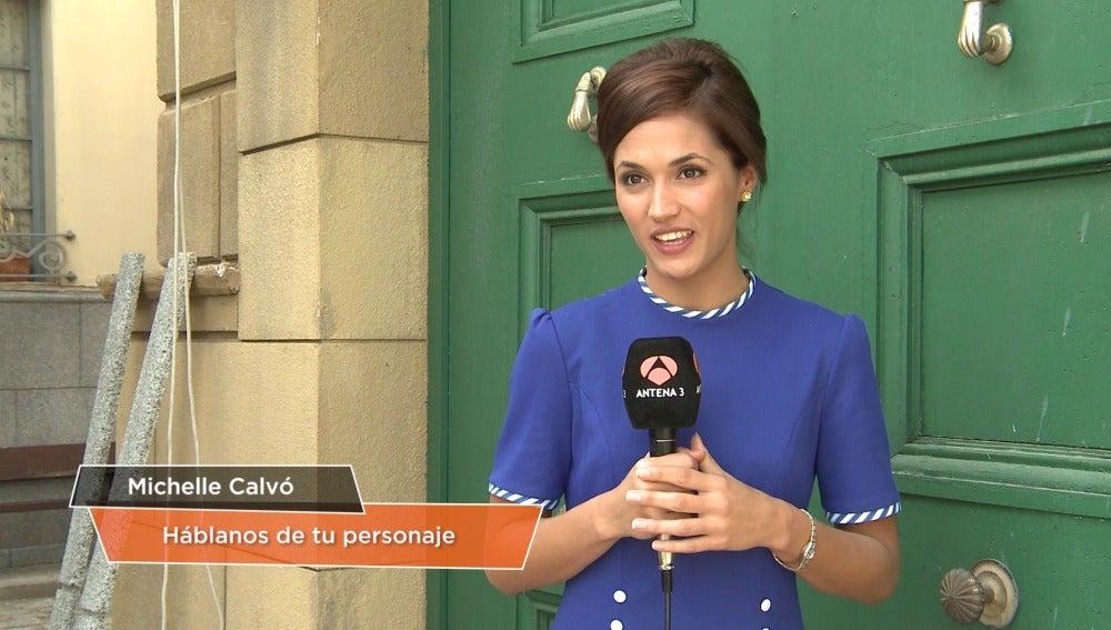 Michelle Calvo es Sofía Contreras en 'Amar es para siempre'