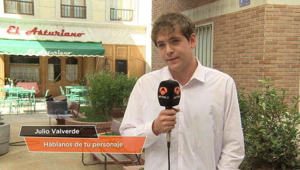 Junio Valverde es Guillermo Perona en 'Amar es para siempre'