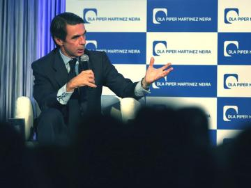 El expresidente del Gobierno español, José María Aznar