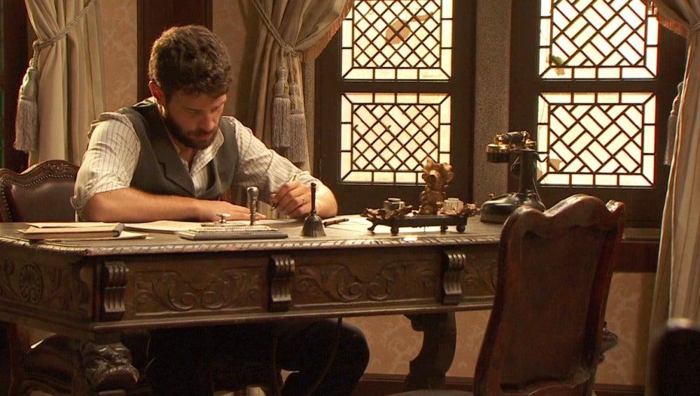 osco escribe a Aurora contándole que Inés ha muerto