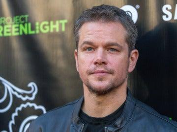 Matt Damon en un evento en Los Ángeles