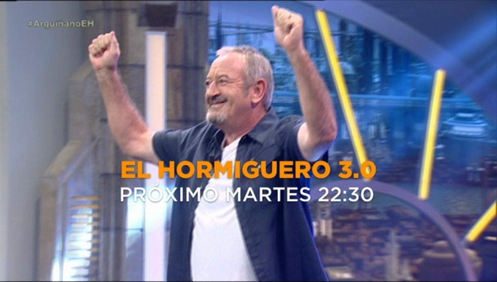 Karlos Arguiñano, en El Hormiguero 3.0 el próximo martes a las 22:30
