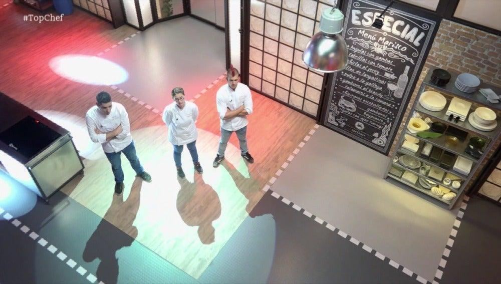 Iván, Vanessa y Borja abandonan para siempre la cocina de Top Chef