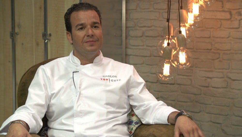 Carlos, concursante de Top Chef 3