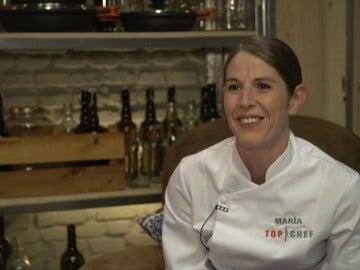 María, concursante de Top Chef 3