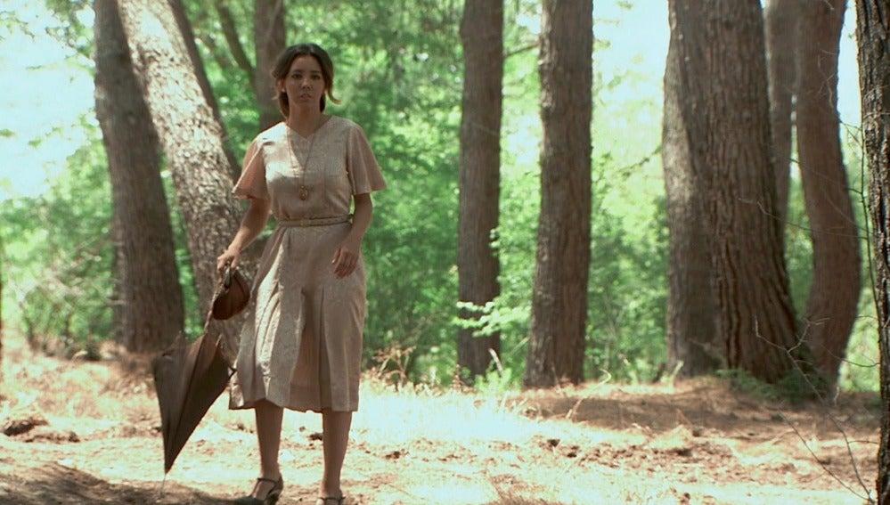 Emilia, a punto de descubrir el desliz de Alfonso
