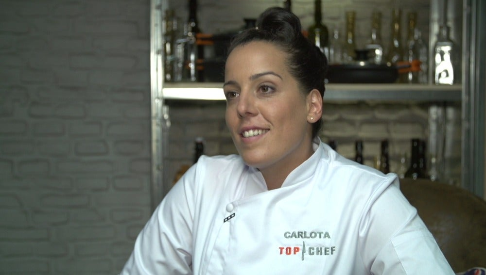 Carlota, concursante de Top Chef 3