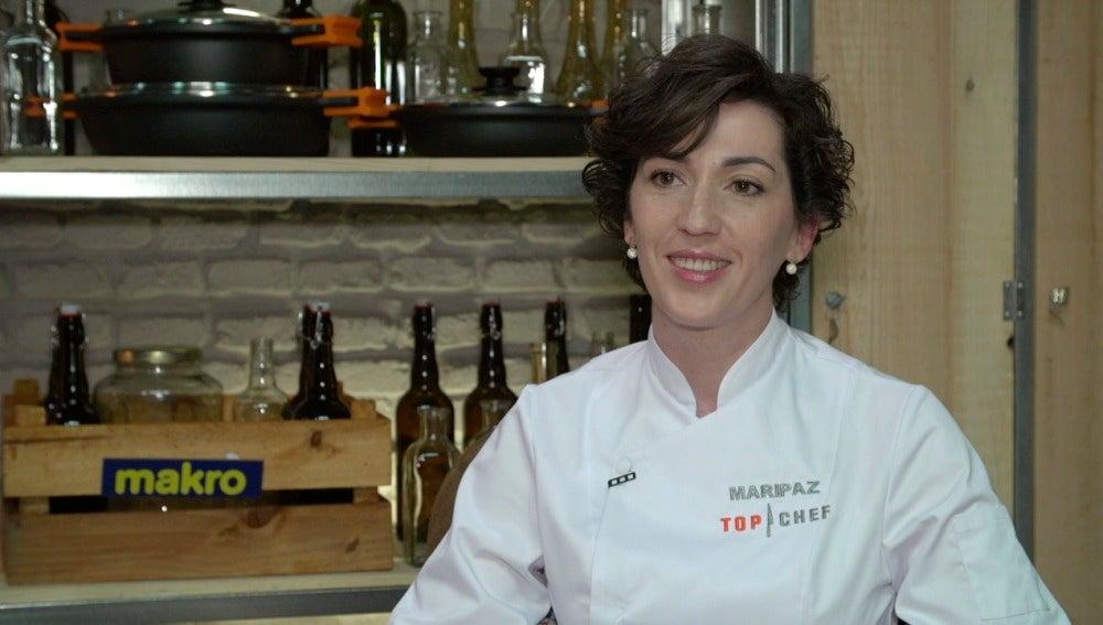Mari Paz, concursante de Top Chef 3