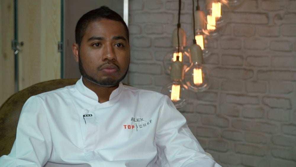 Álex, concursante de Top Chef 3