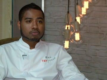 Álex, concursante de Top Chef 3