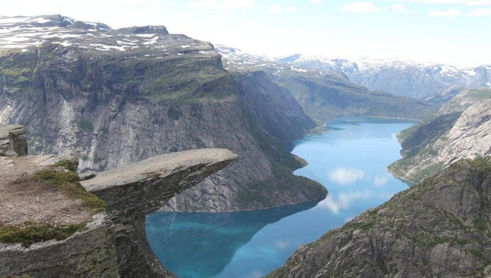 Trolltunga, en Noruega