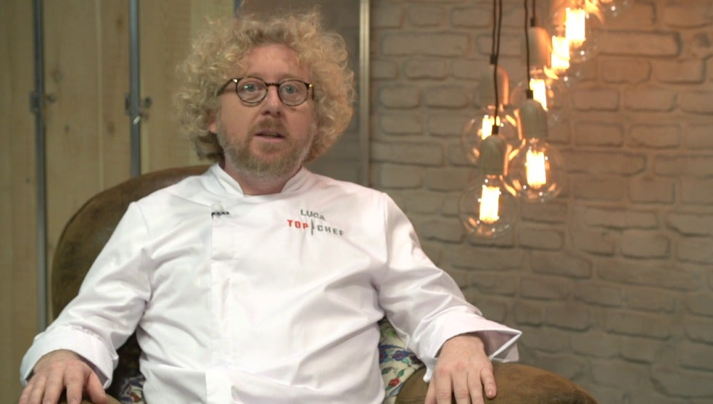 Luca, concursante de Top Chef 3