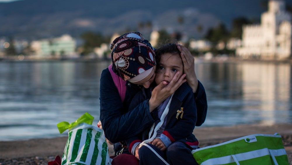 Cuatro millones de sirios han salido del país a causa de la guerra.
