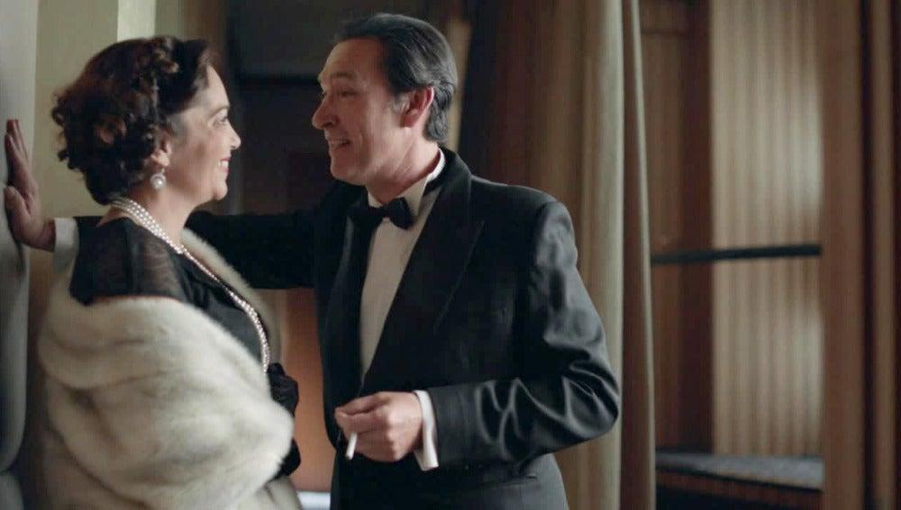 Esteban y doña Pilar