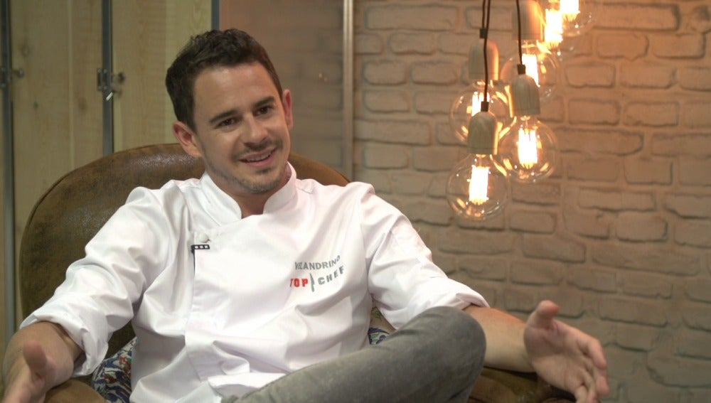 Julio Velandrino, concursante de Top Chef 3