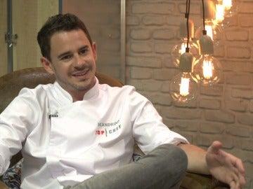 Julio Velandrino, concursante de Top Chef 3