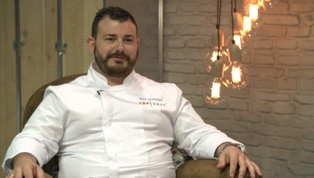 Alejandro, concursante de Top Chef 3