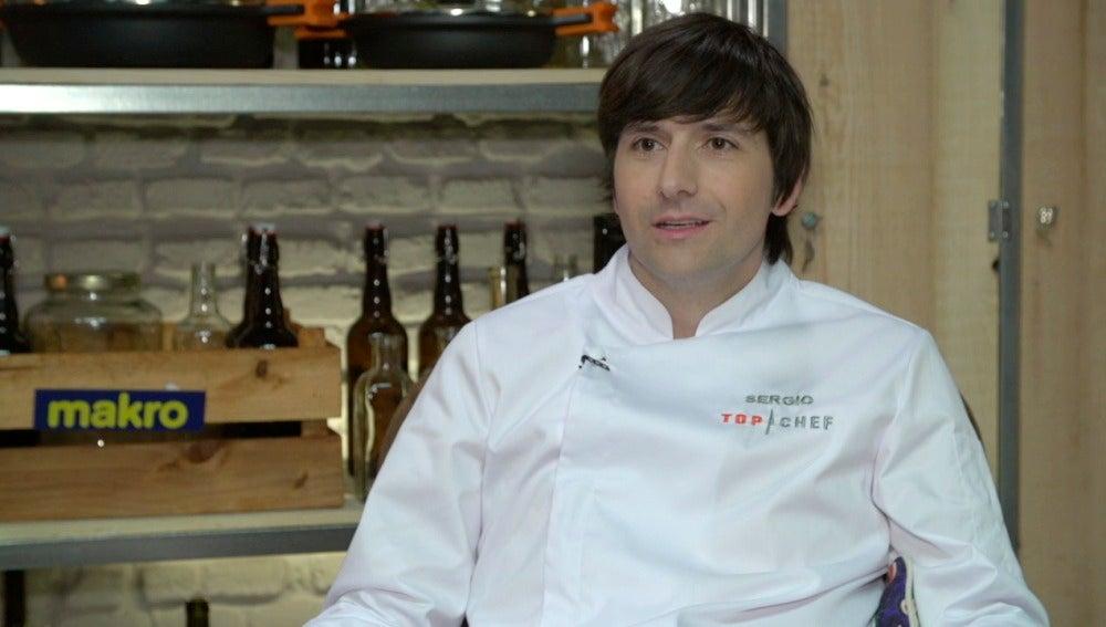 Sergio, concursante de Top Chef 3