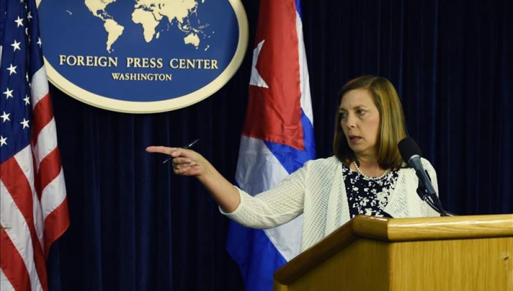 La directora general para EEUU del Ministerio de Exteriores de Cuba, Josefina Vidal