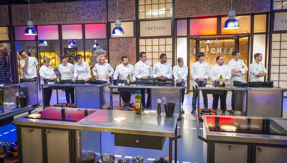 Estos son los 13 cocineros que lucharán por el ansiado título de Top Chef