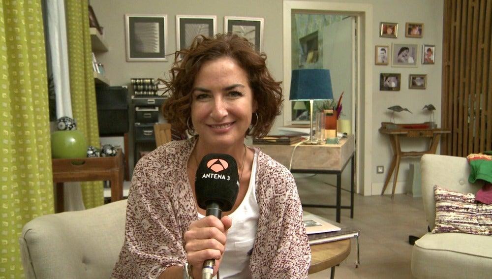 Belén López invita a ver el estreno de 'Mar de plástico'
