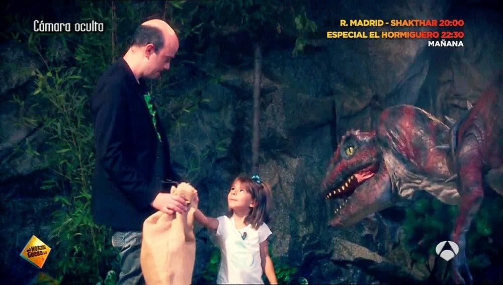 ¿Qué harías si te encuentras con un dinosaurio?