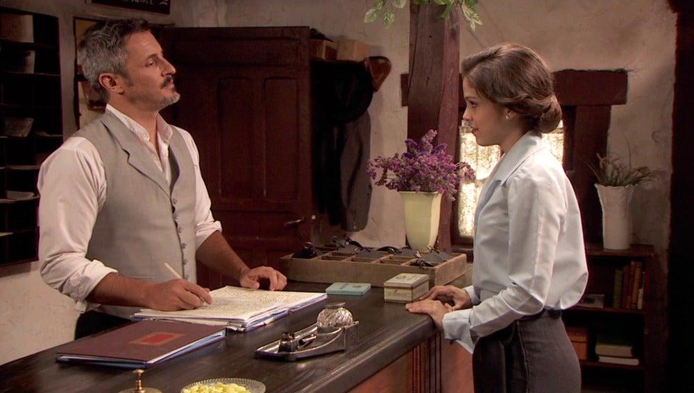 Hortensia presiona a Alfonso para que vuelvan a verse