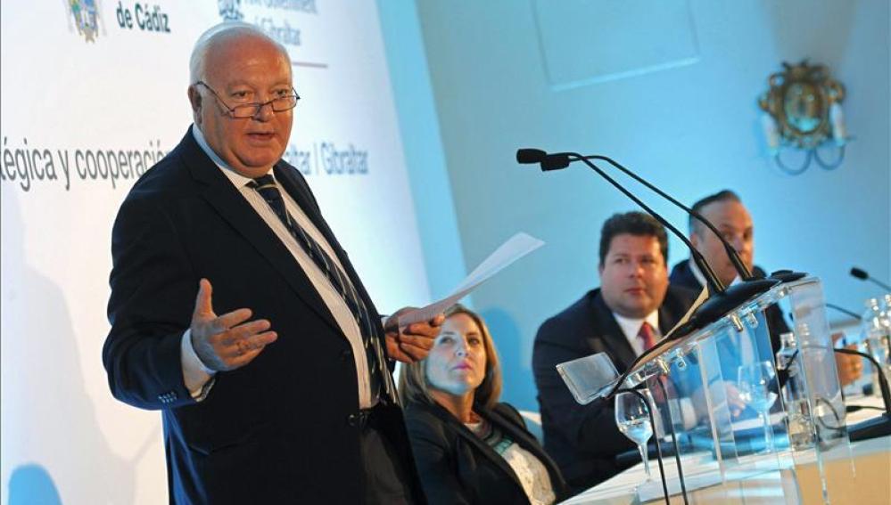El exministro socialista de Asuntos Exteriores Miguel Ángel Moratinos