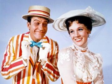 Los protagonistas de la cinta original de 'Mary Poppins', Dick Van Dyke y Julie Andrews