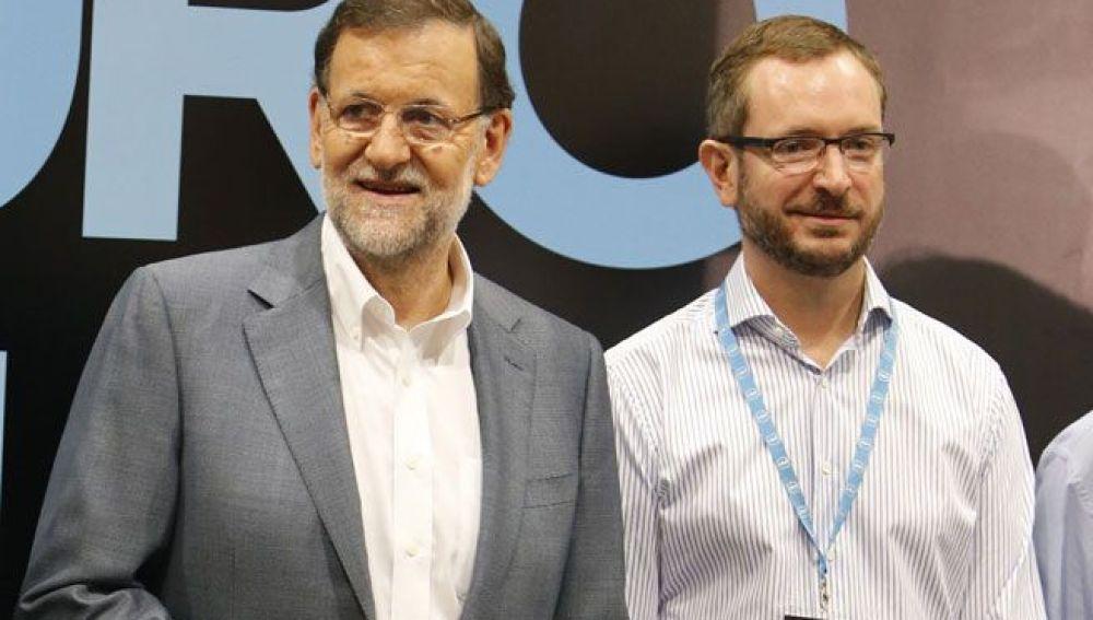 Mariano Rajoy y Javier Maroto
