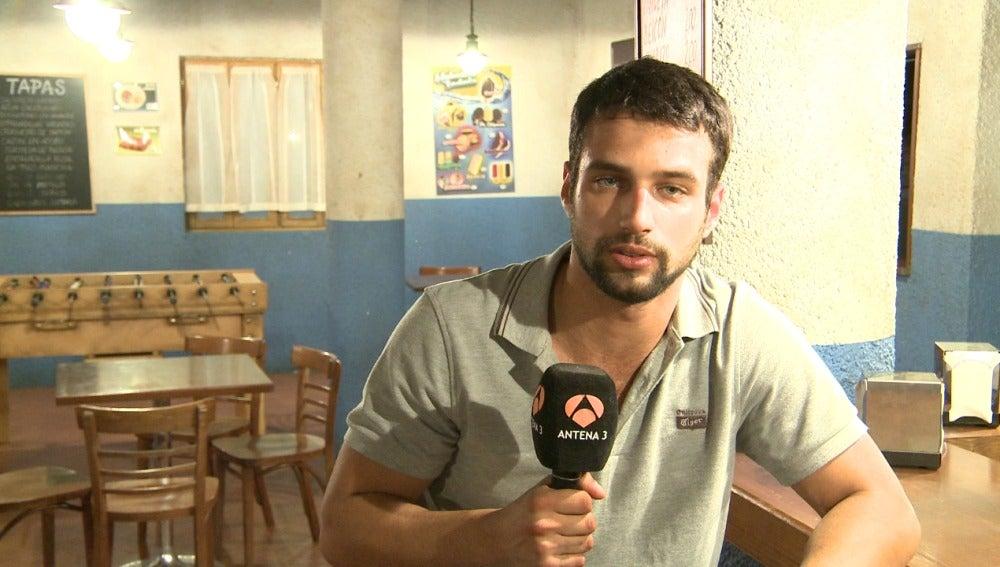 """Jesús Castro: """"Espero que todos disfruten con la historia"""""""