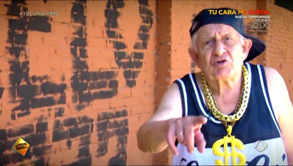 El abuelo rapero