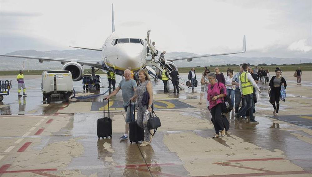 La pista del aeropuerto de Castellón