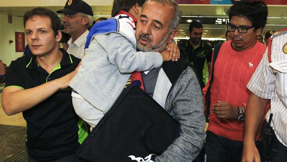 Osama llega a Barcelona