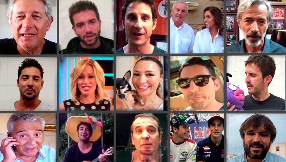 Los famosos felicitan a Trancas y Barrancas