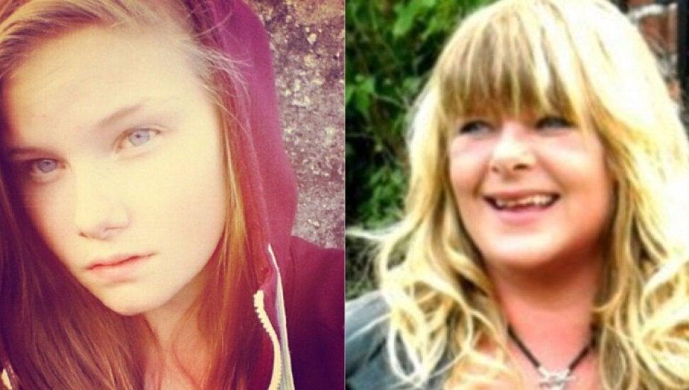 La joven danesa y su madre