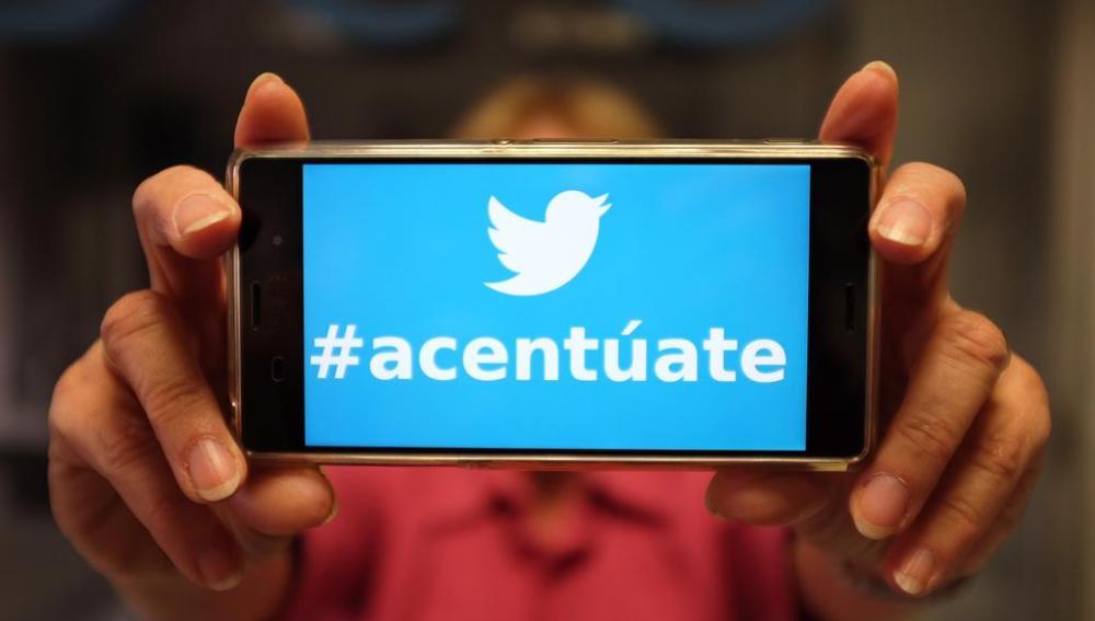 Campaña de Fundéu y Twitter para concienciar sobre el uso de las tildes en los 'hashtags'.