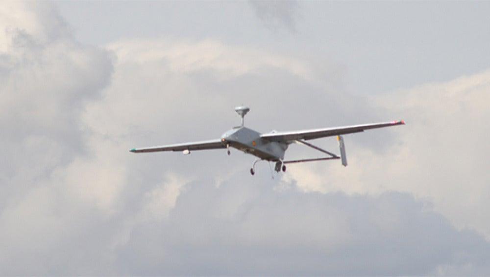 Avión no tripulado modelo Searcher MK II J