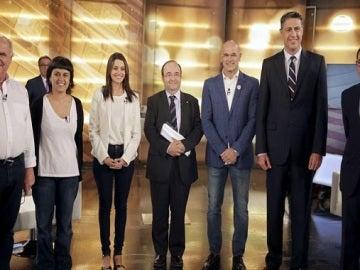 Candidatos al 27-S en un debate televisivo