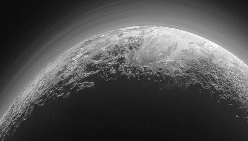 Plutón, retratado por la nave New Horizons