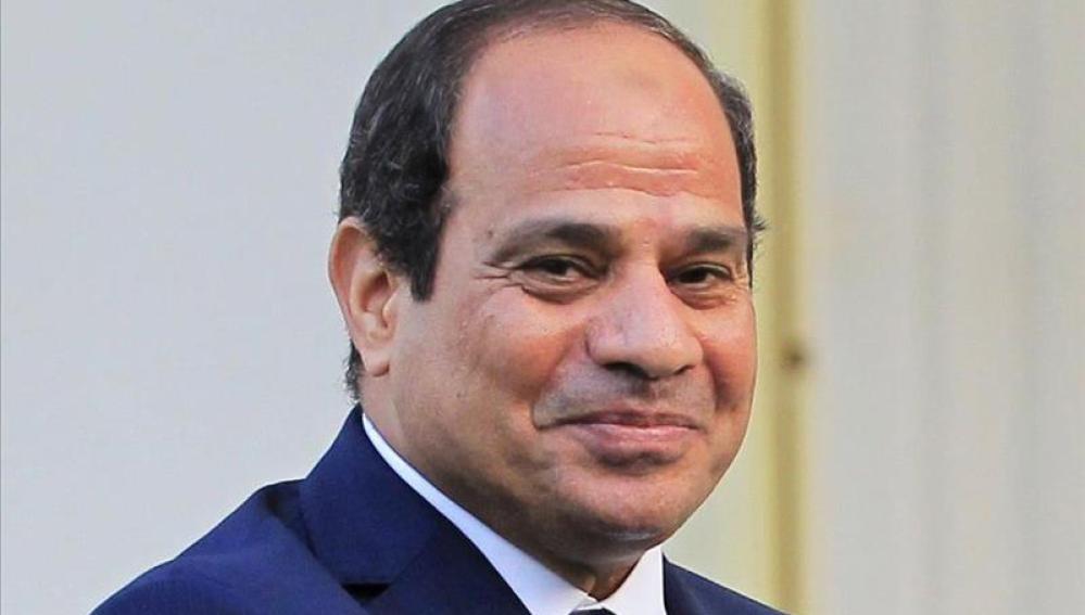 El presidente egipcio, Abdel Fattah al-Sisi.