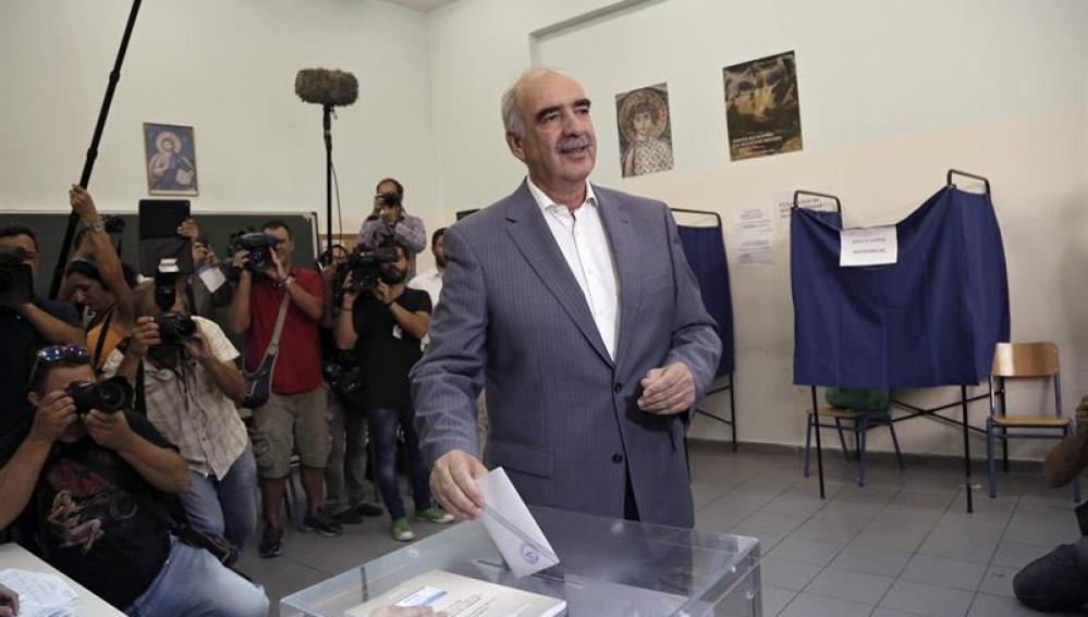 Evangelos Meimarakis, vota