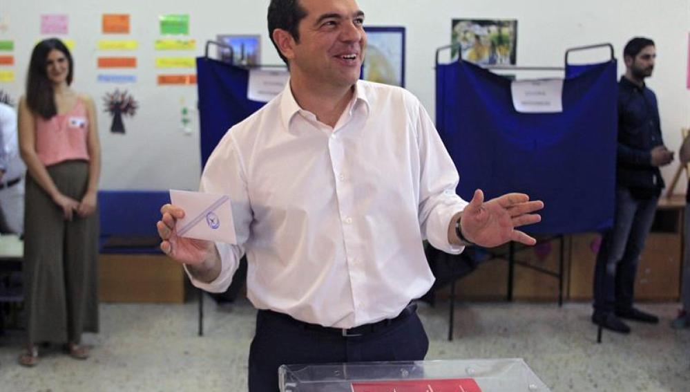 Tsipras vota
